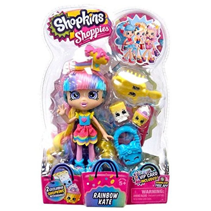 Shopkins Shoppies S2 Doll Rainbow Kate
