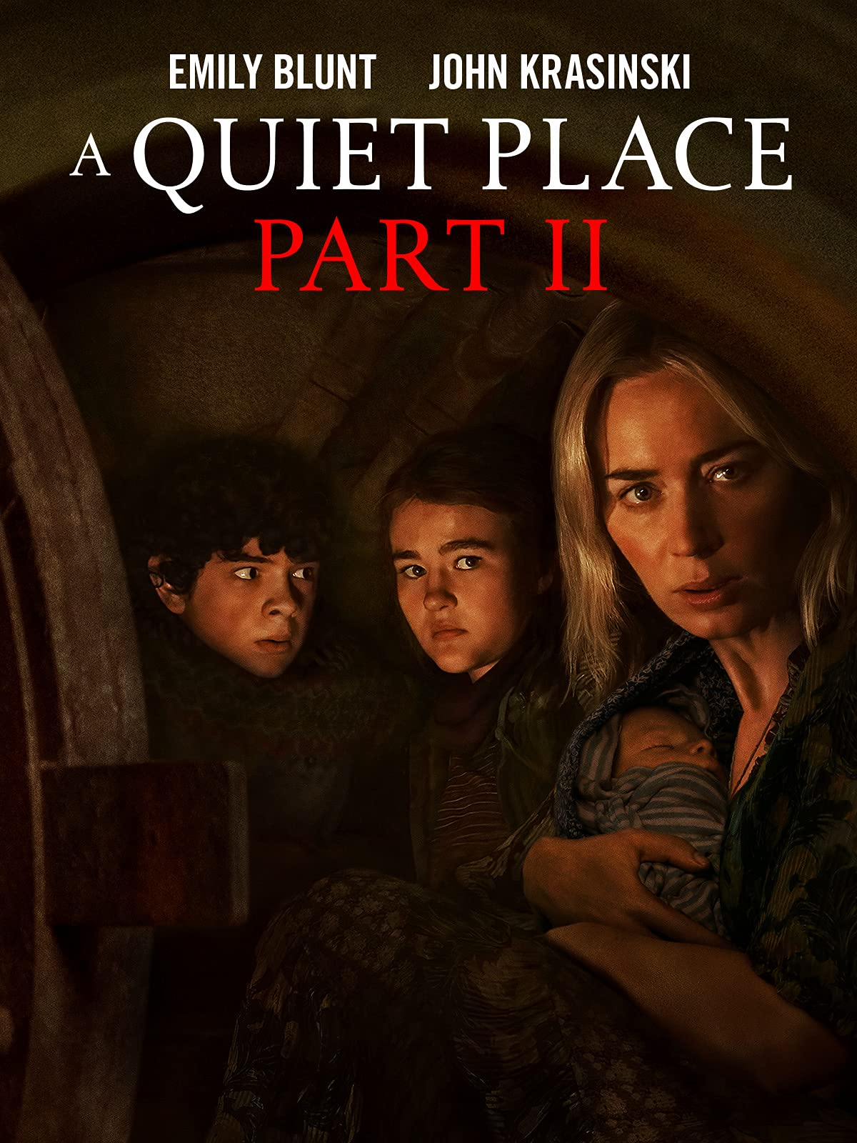 A Quiet Place Part II (2021) English 720p HEVC True HDRip x265 AAC MSubs Full Hollywood Movie 550MB Download
