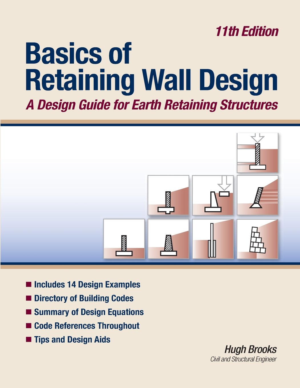 Basics of Retaining Wall Design 14th Edition: A design guide for