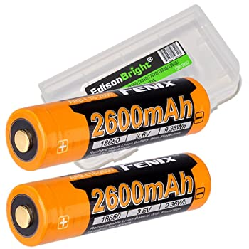 2 Authentic 18650 SONY US18650VTC5 High Drain Flat Top / 2600mAh 30A Li-Ion Rechargeable Battery