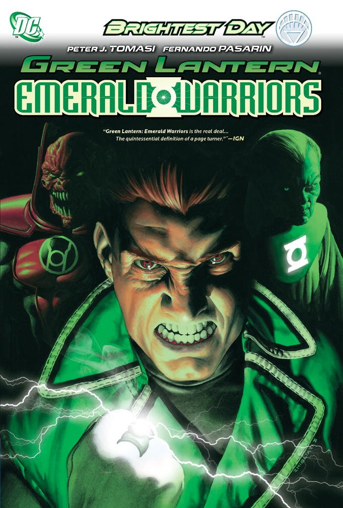 Image result for Green Lantern: Emerald Warriors