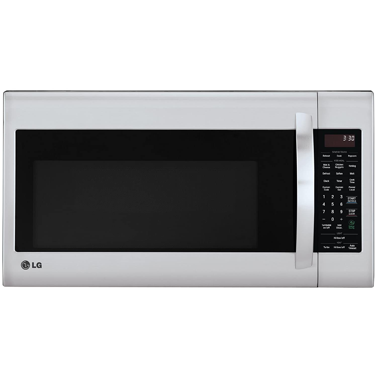 LG LMV2031ST 2.0 Cubic Feet Over-The-Range Microwave Oven