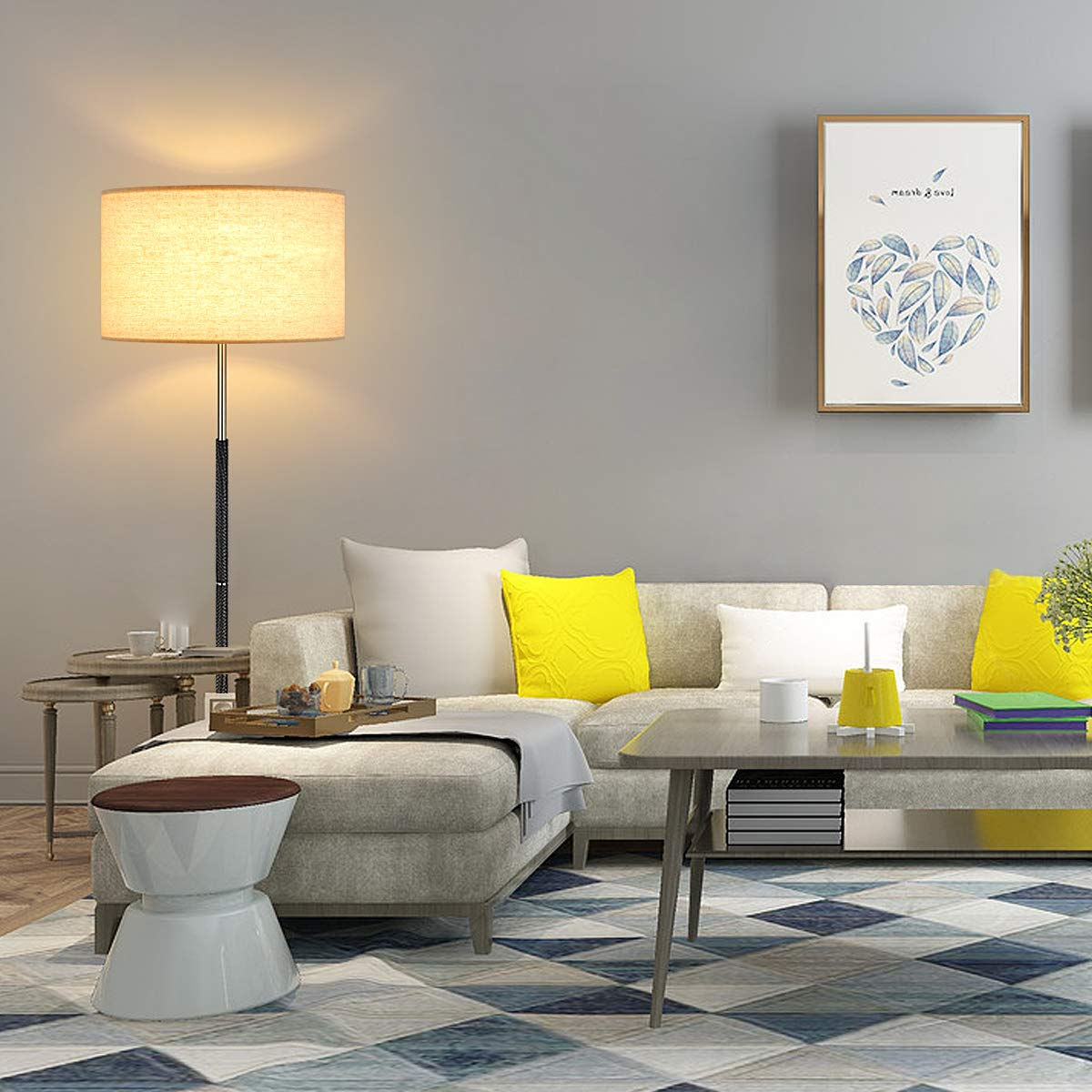 Oneach Belron Modern LED Floor Lamp