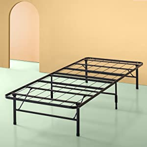 Zinus 14 Inch SmartBase Mattress Foundation / Platform Bed Frame / Box Spring Replacement / Quiet Noise-Free / Maximum Under-bed Storage, Twin XL