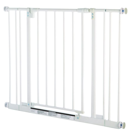 North States Super Gate Easy Close Metal Gate
