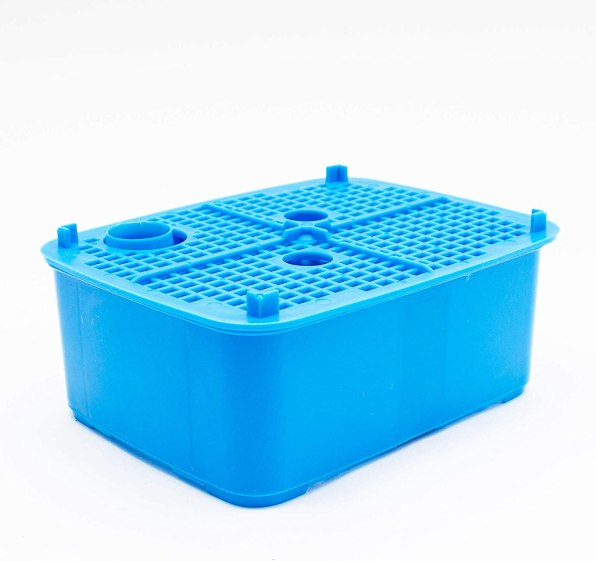 Large filter trays with Penn Plax Cascade Canister Aquarium filter