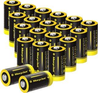Best CR123A Battery - Morpilot 3V CR123A Lithium Battery