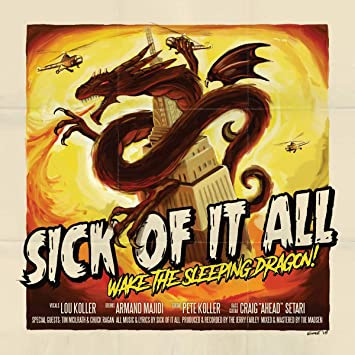 Resultado de imagen de Sick Of It All - Wake the Sleeping Dragon