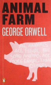 Image result for animal farm book cover