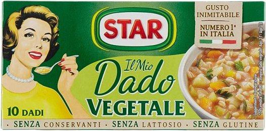 Star - Dado Vegetale, Ricco di Sapore, 10 Dadi - 100 g: Amazon.it:  Alimentari e cura della casa