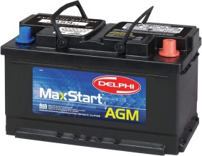 Best Powerful AGM Battery - Delphi BU9094R MaxStart