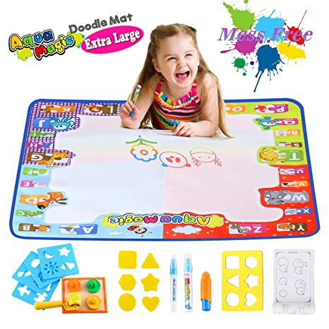 Water Drawing Mat for Toddlers