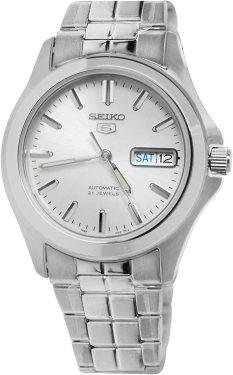 Amazon.com: Seiko Men's SNKK87 Two Tone Stainless Steel Analog ...