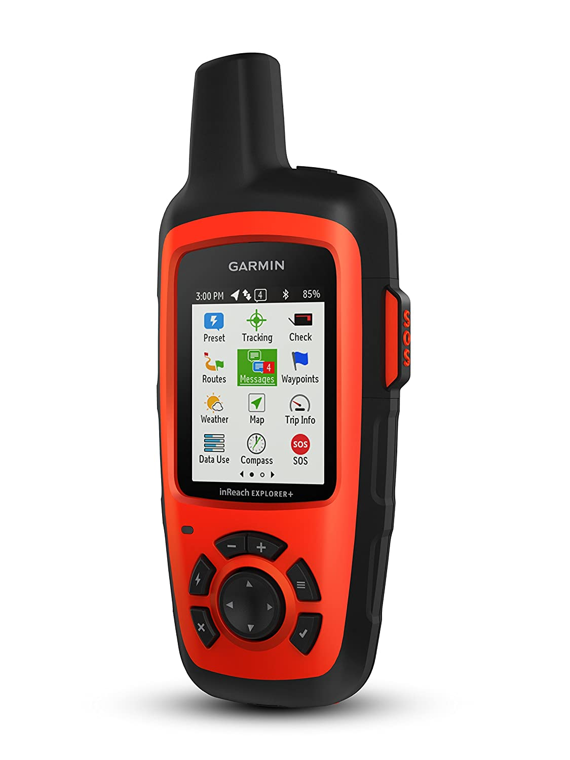 Amazon.com: Garmin Inreach Explorer+ We won't often be out of communication, but this satellite two-way messenger, GPS, tracker and weather device gives us peace of mind.