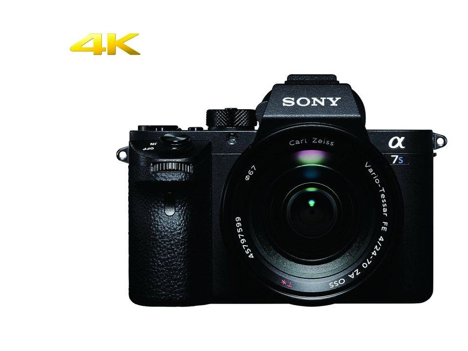 Sony a7S II ILCE7SM2/B - Cámara Alpha Mirrorless con montura E Full Frame CMOS con 12.2 mp, grabación 4Khttps://amzn.to/2PoMdAN