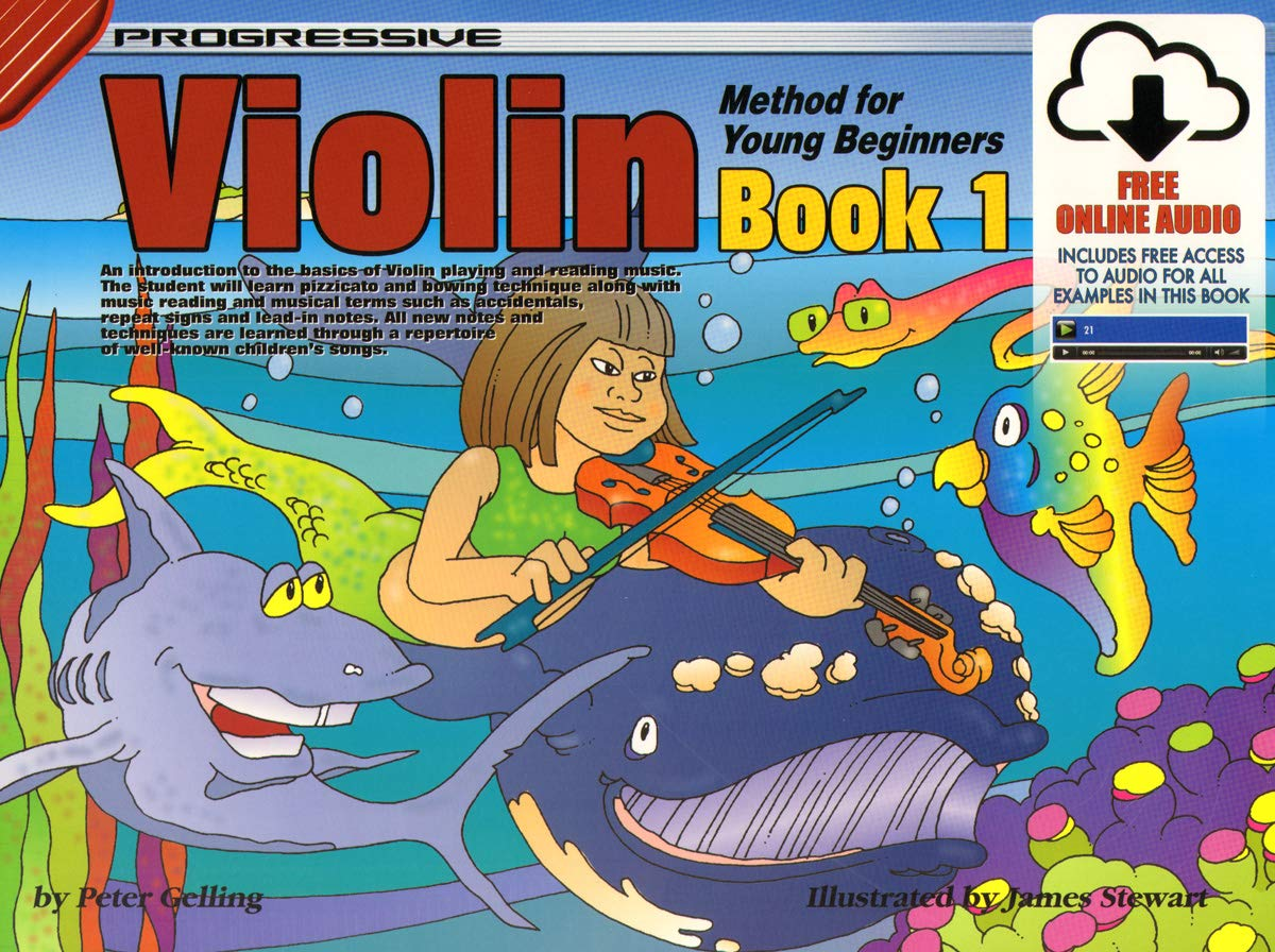 Amazon.com: 69144 - Progressive Violin Method for Young Beginners ...