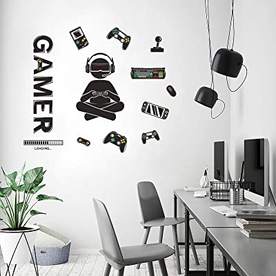 Buy Honeyjoy Game Room Decor Boys Room Decorations For Bedroom Video Game Room Wall Stickers Removable Wall Art For Kids Men Playroom Living Room Online In Japan B08pz2rts7
