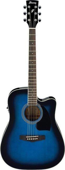 chitarra acustica Ibanez PF15ECE-TBS
