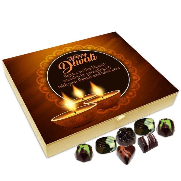 Chocholik Diwali Gift Box – Have A Beautiful and Pollution Free Diwali Chocolate Box – 20pc