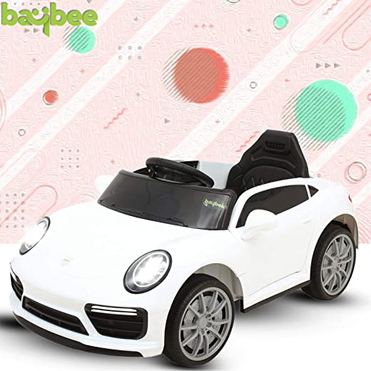 Baybee Macan Baby Toy Car Rechargeable Battery Operated Ride on car for Kids/Baby with R/C Jeep Children Car Electric Motor Car Kids Cars,Baby Racing Car for Boys & Girls