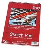 Darice Studio 71 Sketch Pad, 9 x 12 inches, 100 Sheets