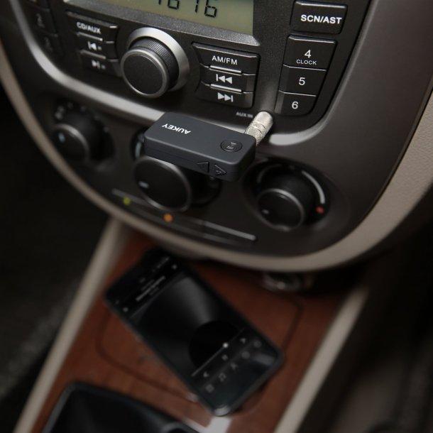 Anschluss über AUX - Aukey Bluetooth 4.1 Empfänger Auto Adapter