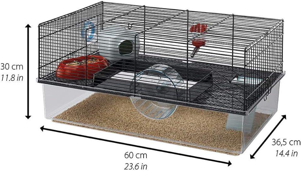 cage ferplast favola pour hamster
