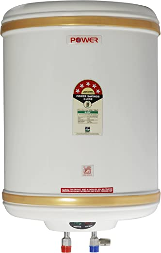 POWER PYE ELECTRONICS Stainless Steel 15 L Water Heater Geyser (Ivory)