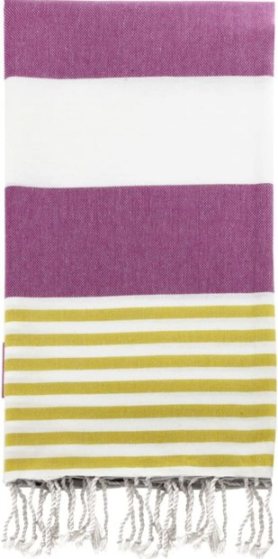 The Swan Comfort towel is a great Bath Towels for Plus Size Women. I love the yellow and pink colour scheme.