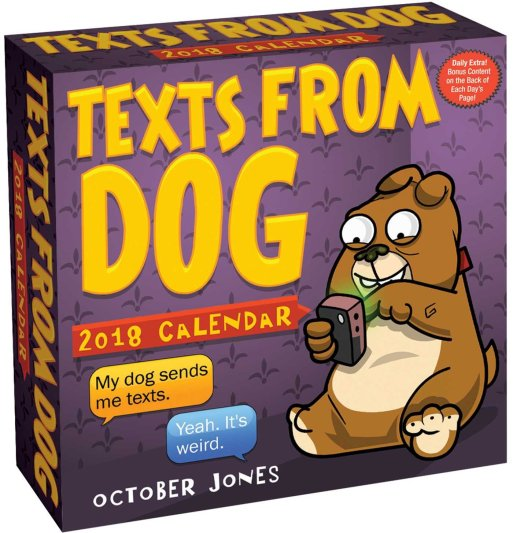 Dog Calendar Ideas : Of the best ever dog gift ideas that will make all
