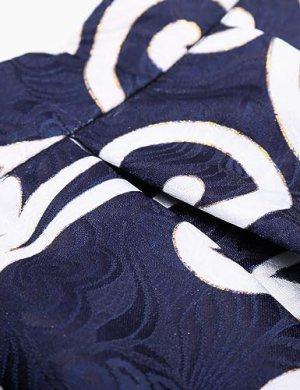 Pleated Midi Skirt | printed