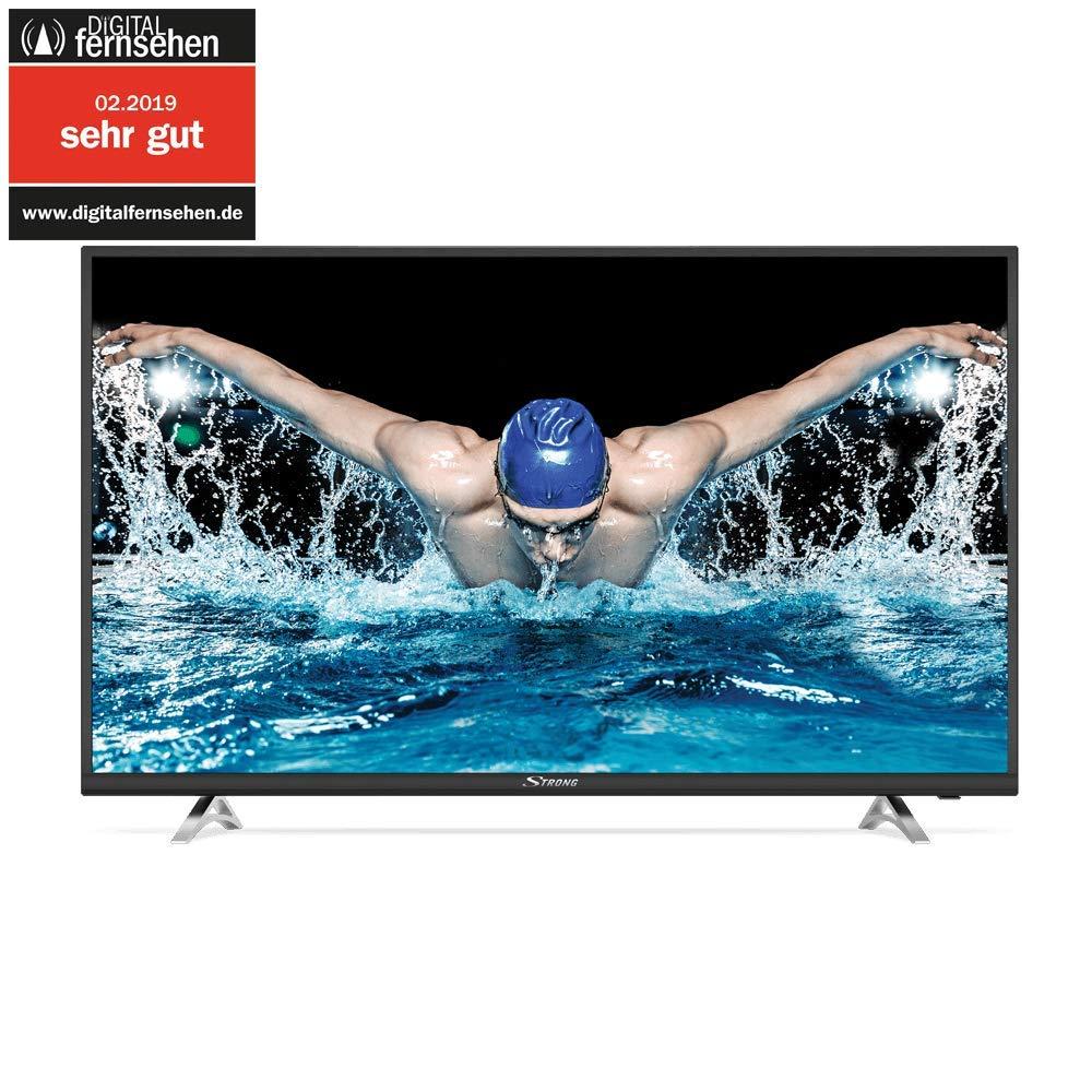 "Strong SRT 43UA6203 4K Ultra HD LED Smart-TV - Téléviseur, 108cm, 43"", 3840x2160 Pixels (4K UHD, Netflix, Youtube) noir"