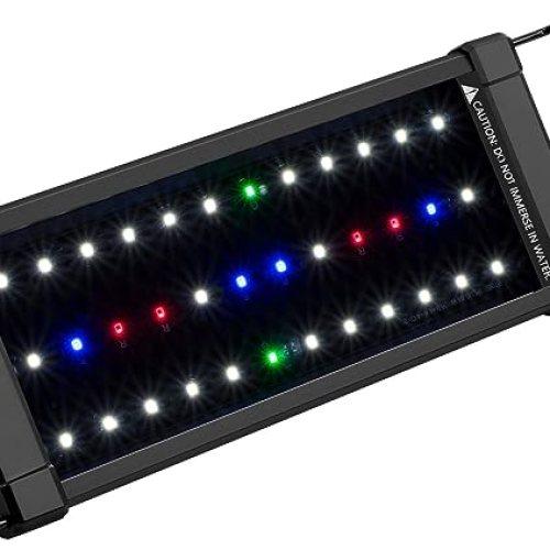 NICREW ClassicLED Plus Planted Aquarium Light, Full Spectrum LED Fish Tank Light for Freshwater Plants
