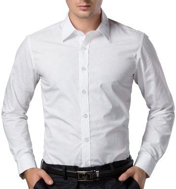 Image result for Paul Jones Men's Long Sleeves Button Down Dress Shirts