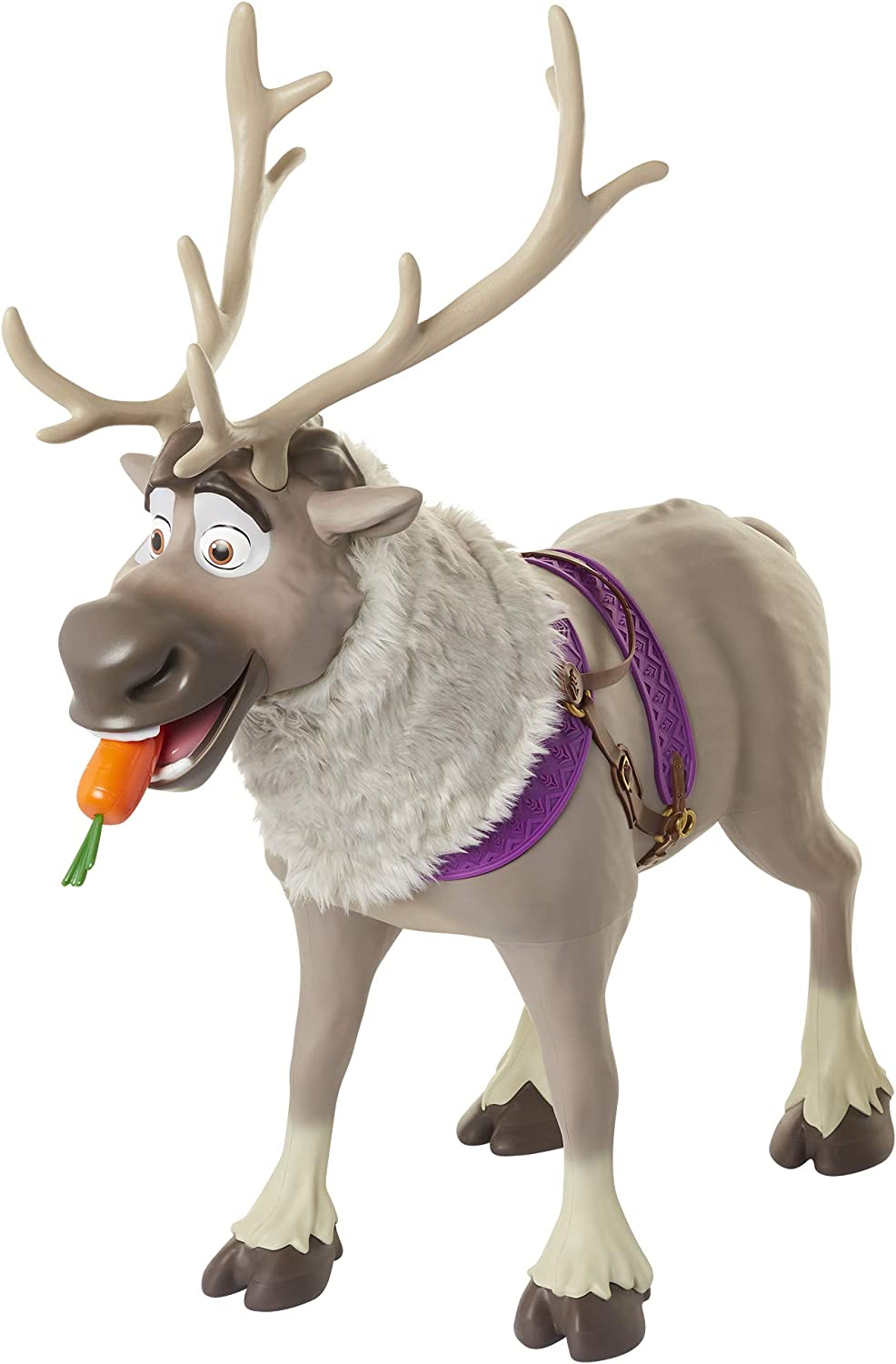 Amazon Com Sven Reindeer Frozen 2 My Size Playdate Sven With Sounds Toys Games