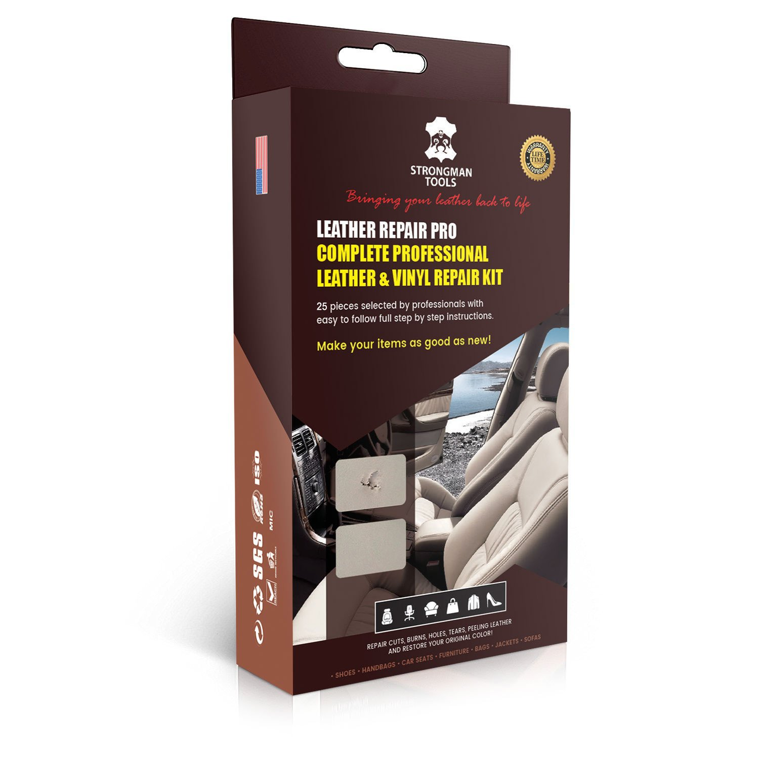 Top 10 Best Leather Repair Kit – (Guide and Reviews in 2019)