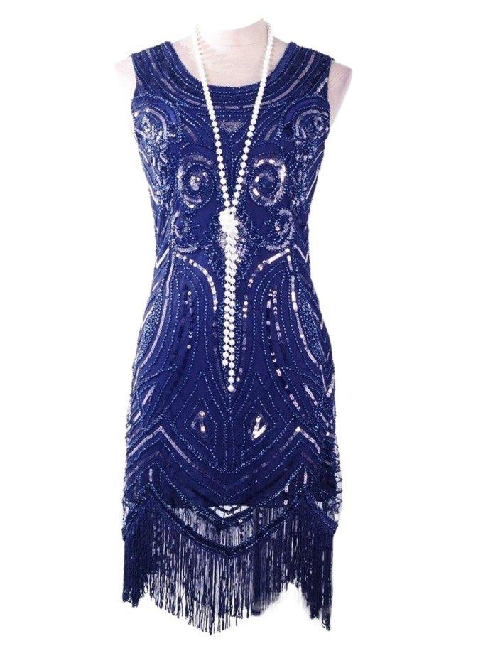 VIJIV Women's 1920's Vintage Gatsby Bead Sequin Art ...