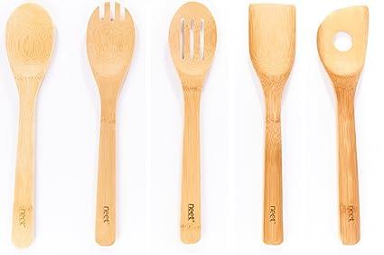 bamboo cooking utensils