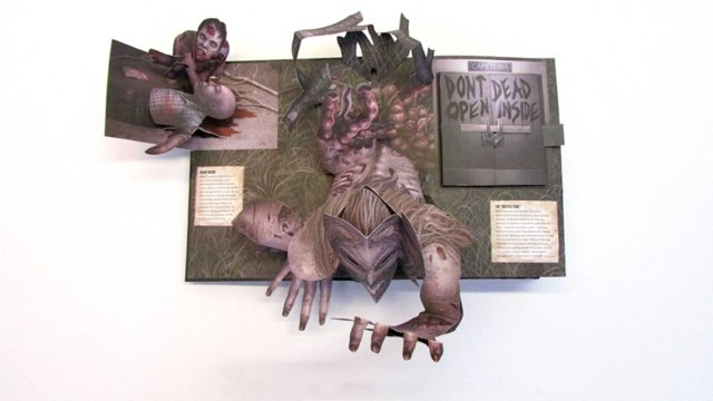 The Walking Dead: The Pop-Up Book: SD Perry, Becca Zerkin, David ...