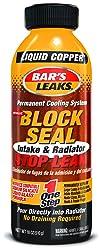 Bar's Leaks 1109 Block Seal Liquid Copper Intake and Radiator Stop Leak