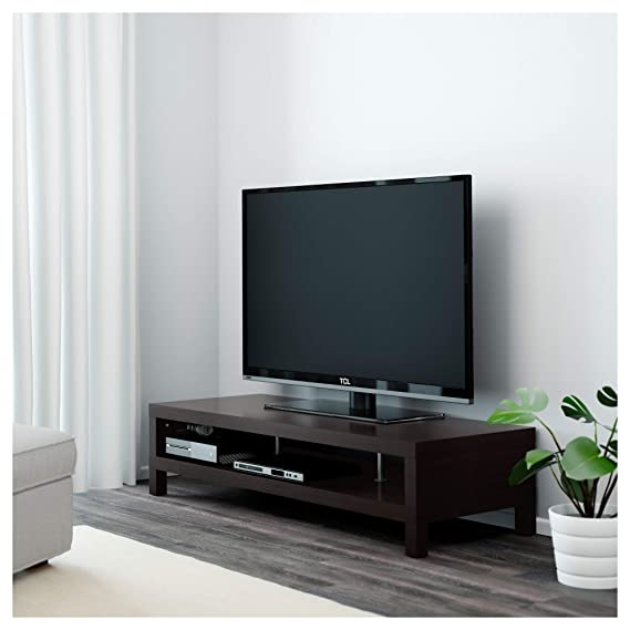 Ikea 20105341 Lack Tv Stand Black Brown