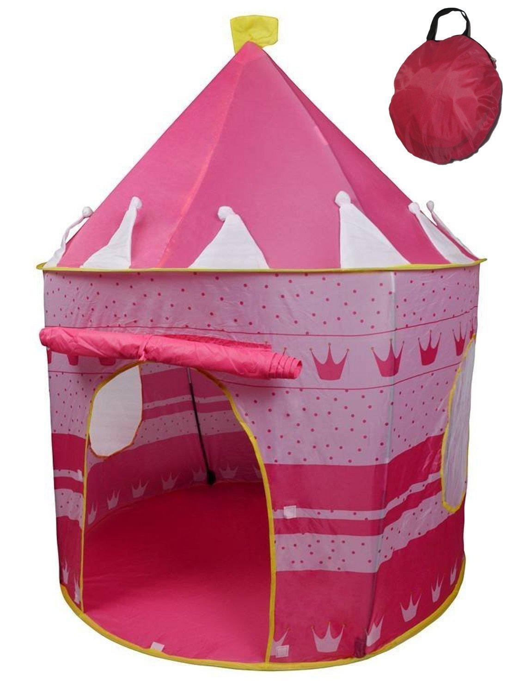 Princess Castle Girls Outdoor Tent Pink Indoor Play House