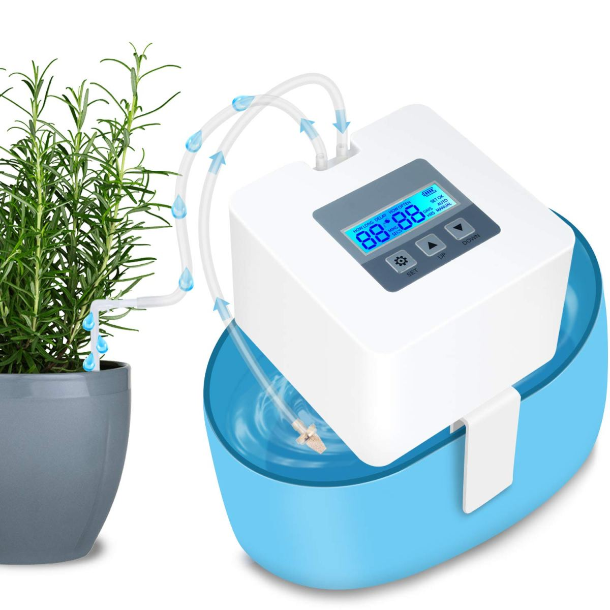Inteligente sistema de riego para plantas: