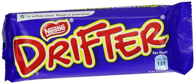 Drifter Bars Pack 48's: Amazon.co.uk: Grocery