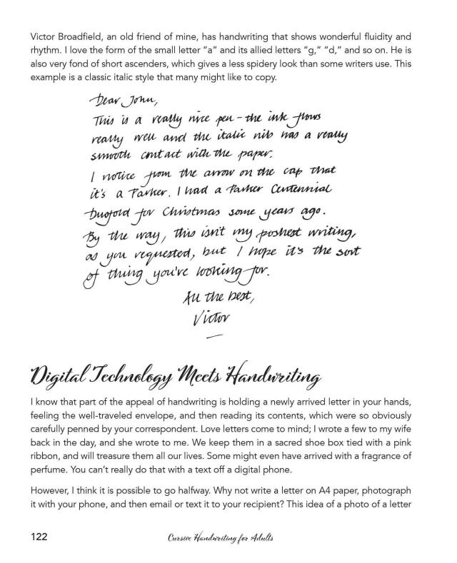 Cursive Handwriting for Adults: Easy-to-Follow Lessons, Step-by