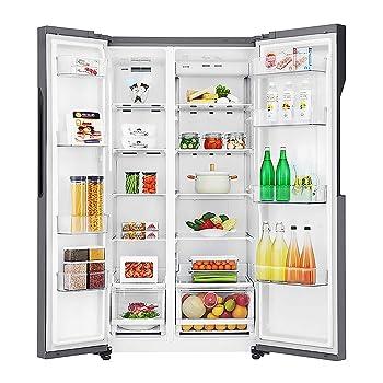 LG 679 L Frost Free Side-by-Side Refrigerator(GC-B247KQDV.ADSQEBN)