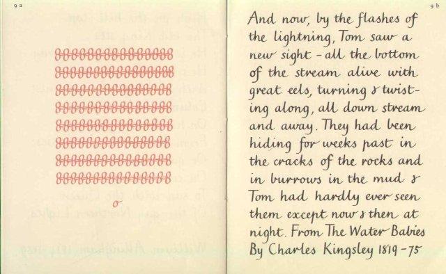 Image for Marion Richardson hand writing