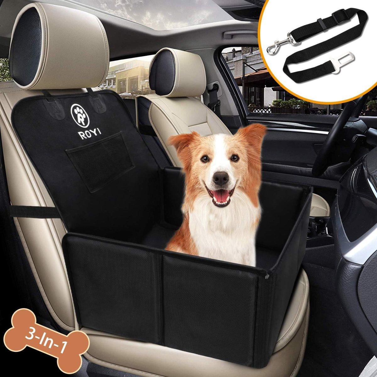 Asiento del Coche de Seguridad para Perro Mascota