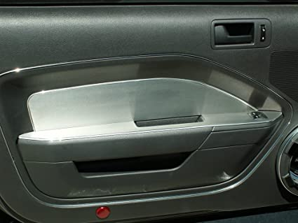 American Car Craft Ford Mustang 2005 2006 2007 2008 2009 Brushed Door Panel Dash Trim Interior