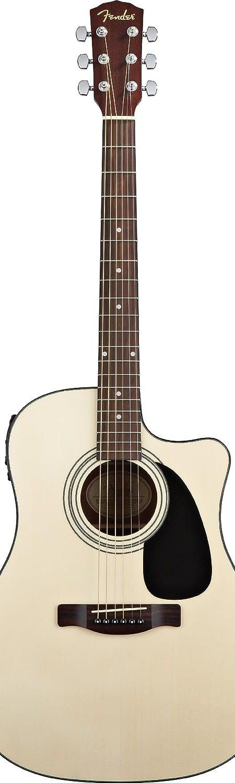 Fender CD-60CE Dreadnought Cutaway Acoustic-Electric Guitar